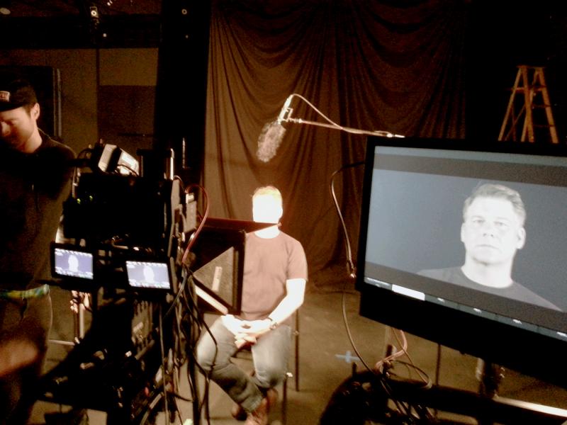 VFR film shoot